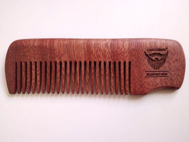 Дървен гребен за брада високо качество гр. София - image 1