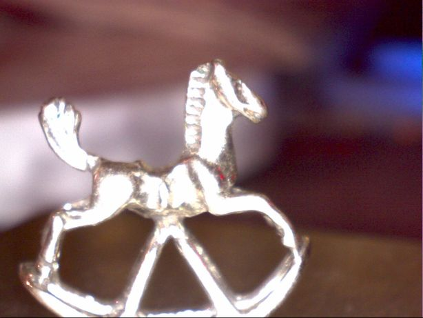Miniatura argint calut 1