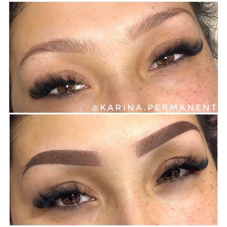 Акция на перманентный макияж бровей и губ