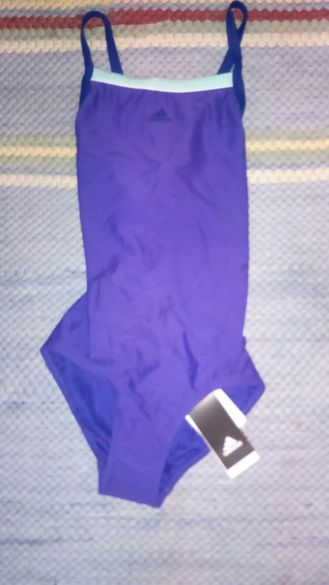 Оригинален цял бански костюм Adidas/ Чисто Нов!!!