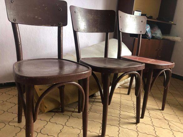 Стринен стол _3 броя