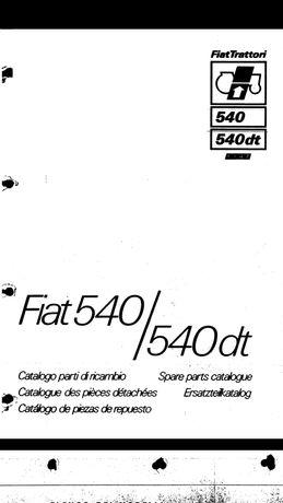 Catalog piese de schimb Fiat 540 / 540 dt
