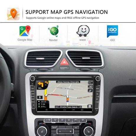 """GPS Navigatie 8""""HD WiFi+BT+Android VW Golf 5,6/Tiguan/Passat,cc/Touran"""