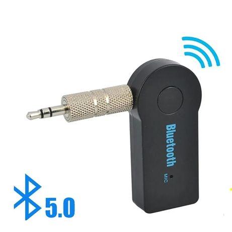 Нова версия Блутут 5.0 АУКС аудио адаптер Bluetooth 5.0 AUX adapter