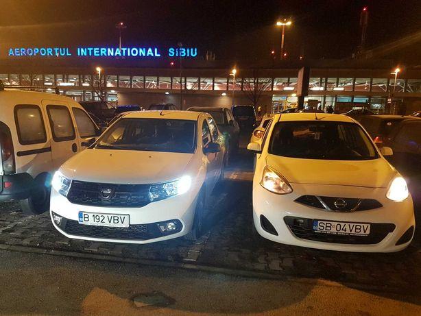 Inchirieri auto fara GARANTIE de pe aeroportul Sibiu , de la 14 euro