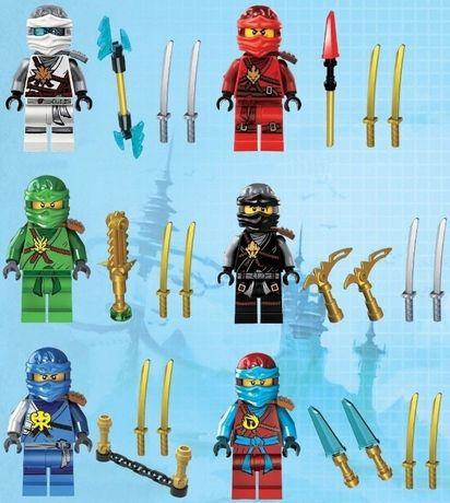 Minifigurine noi tip Lego Ninjago sezonul 7 - Rise of the Villains