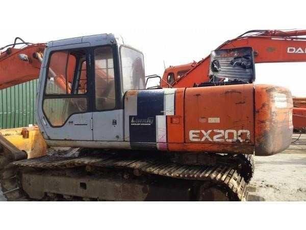 Dezmembram excavator HITACHI EX200-2 reductor, pompa hidraulica, motor
