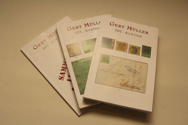 Catalog casa licitatii filatelica Gert Muller - Germania