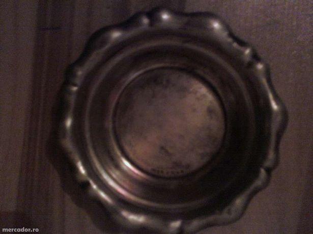 Scrumiera de Argint Veche pentru Colectionari cu Marcaj 800