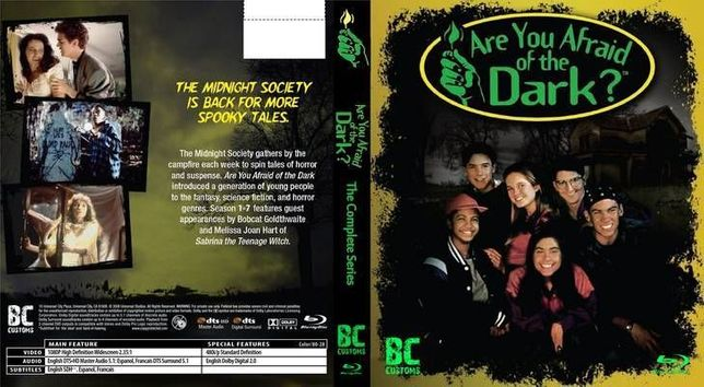 Vand serialul Are You Afraid of the Dark (serialul copilariei 1990-200