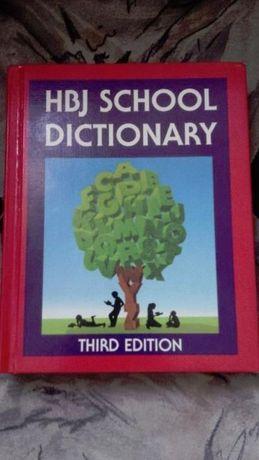 Продавам английски речник - HBJ School Dictionary Third Edition