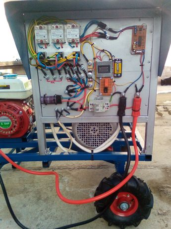 Generator sistem mixt ,solar,eolian, si autoturisme electrice,25-30kwh