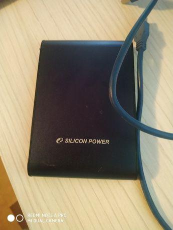 Silicon Power500GB A80 Portable Hard Drive