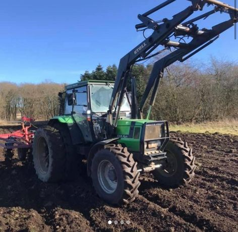 Tractor Deutz Fahr dx 4.51  cu incarcator 4x4