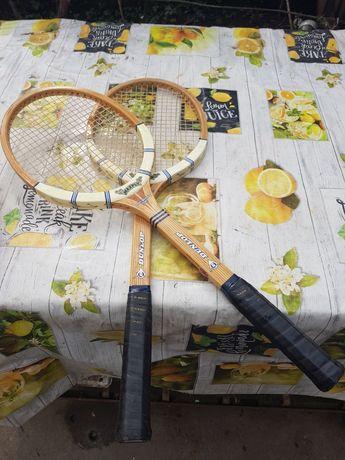Rachete de tenis retro din lemn