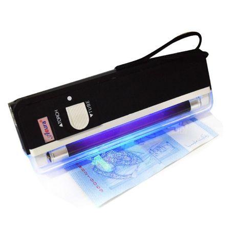 Джобна UV лампа за проверка на банкноти - детектор за фалшиви пари