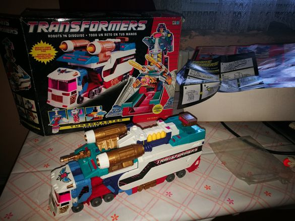Transformers thunder clash 1992'