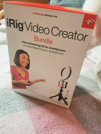 Kit NOU Irig Video Creator Bundle pentru vlogging pe smartphone