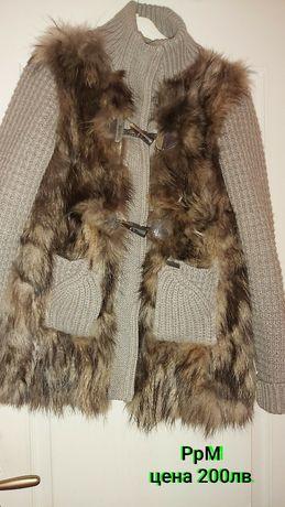 Маркова жилетка на BARK от естествен косъм лисица!200лв!