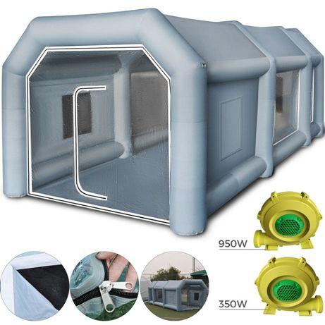 Cabina Auto mobila de vopsit 8x3,5x3m gonflabila ventilatoare filtre