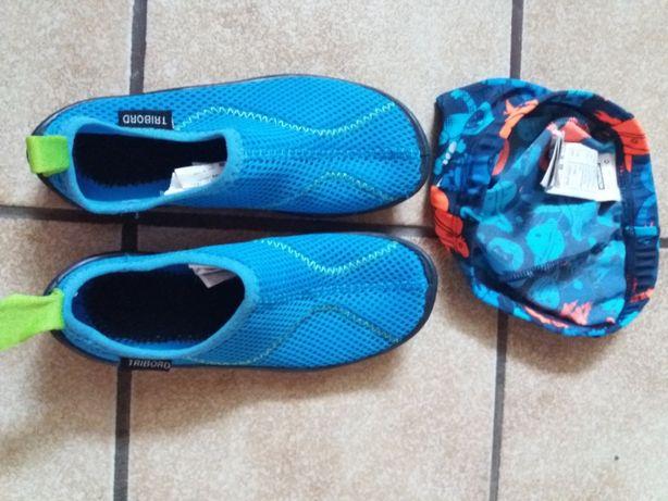 set pantofi de apa si casca apa