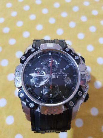 Festina мъжки Tour de France F16543 /3 Черен каучуков кварцов часовник