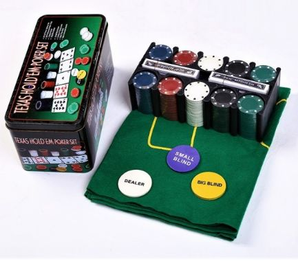 Set Poker Texas - 200 jetoane
