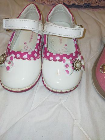 Туфли на две 25р и 24