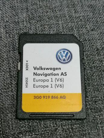 Card navigație Europa original Volkswagen MIB2