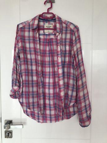 Дамска розова лятна риза Abercrombie&Fitch