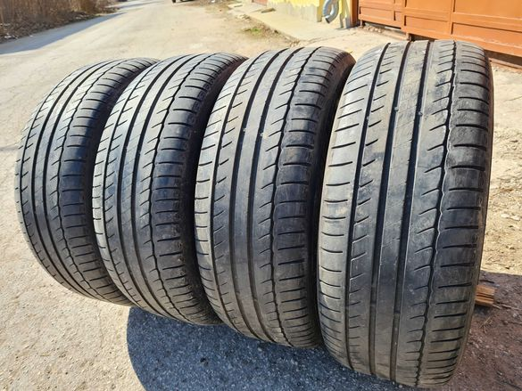 4 бр. летни гуми 235/55/17 Michelin 4,2 mm DOT 4214