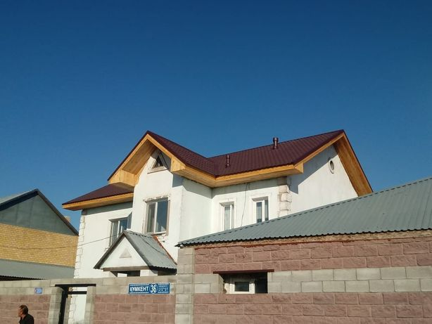Монтаж кровли, крыши Астана Гарантия 5 лет