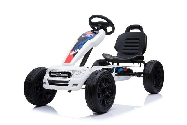 Kart cu pedal Ford, Nou cu garantie #ALB
