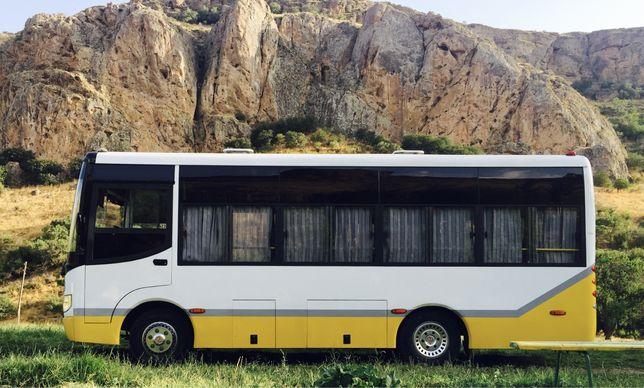 Аренда автобуса, пассажирские перевозки, автобус на заказ!