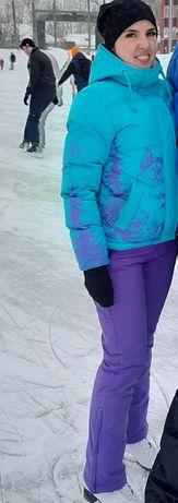 Лыжный теплый костюм