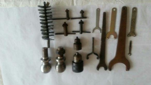 Инструменти ключиве,пули и други