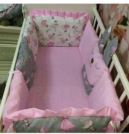 продам бортики и манеж, полный комплект для новорожд принцессы