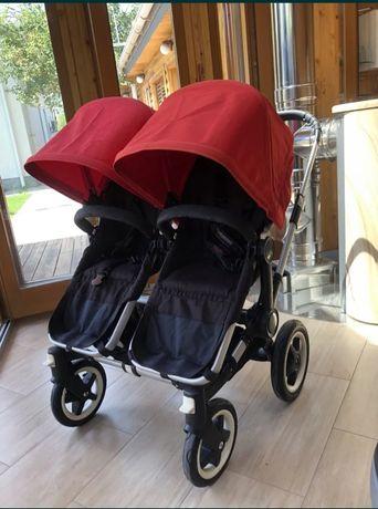 Детская коляска для двойни Bugaboo. 3 в 1