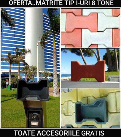 MATRITE PAVAJ vand forme pavele dale constructi amenajari beton piese