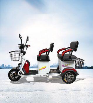 На изплащане и на Хит Цена Електрическа Триколка БЛ 206 с Кош