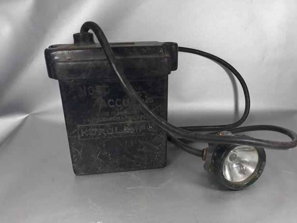 """Lampă miner ani 60"""" de colecție original veche"""