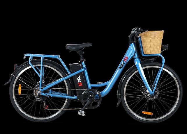Bicicleta Electrica Deluxe RKS XT1 250W, Litiu-Ion 36V 10,4Ah, ALNew !