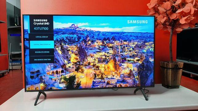 Телевизор 109 см Samsung UE43TU7100U! Smart TV! Гарантия на 1 год!