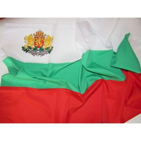 Български знамена със и без герб Различни видове и размери