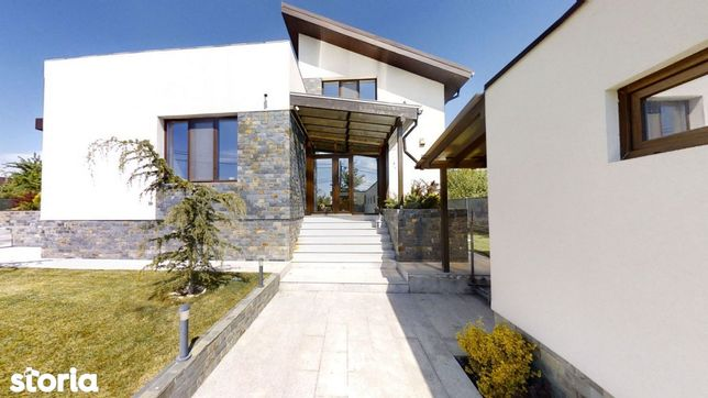 Vila 7 camere, teren 1000mp, Balotesti - Tur Virtual