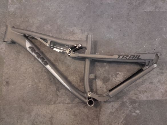 27.5 RAM Trail 125 S Allu Full Suspension Frame Мека Алуминиева Рамка