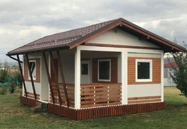 Vand containere modulare stil casa