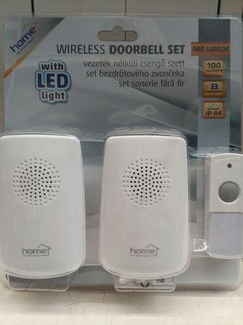 Set 2 sonerii led wireless noi sigilate