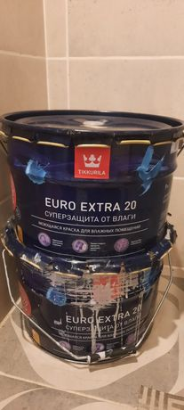 Краска Тиккурила Tikkurila euro extra 20