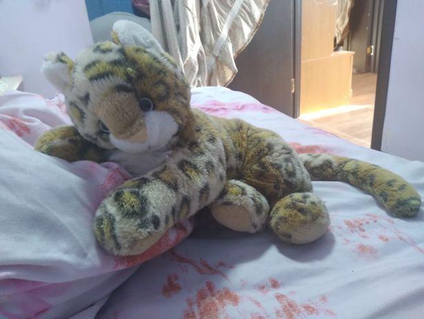 Кошечка леопардового окраса игрушка